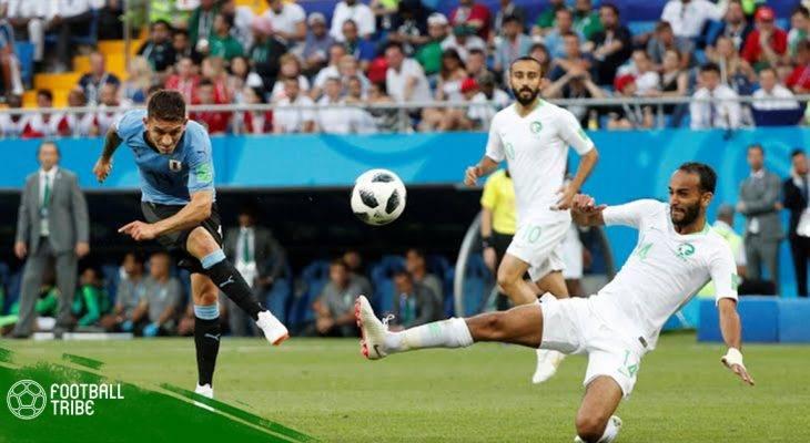 Điểm nhấn Uruguay 1-0 Ả Rập Xê Út: Bảng A ngã ngũ!