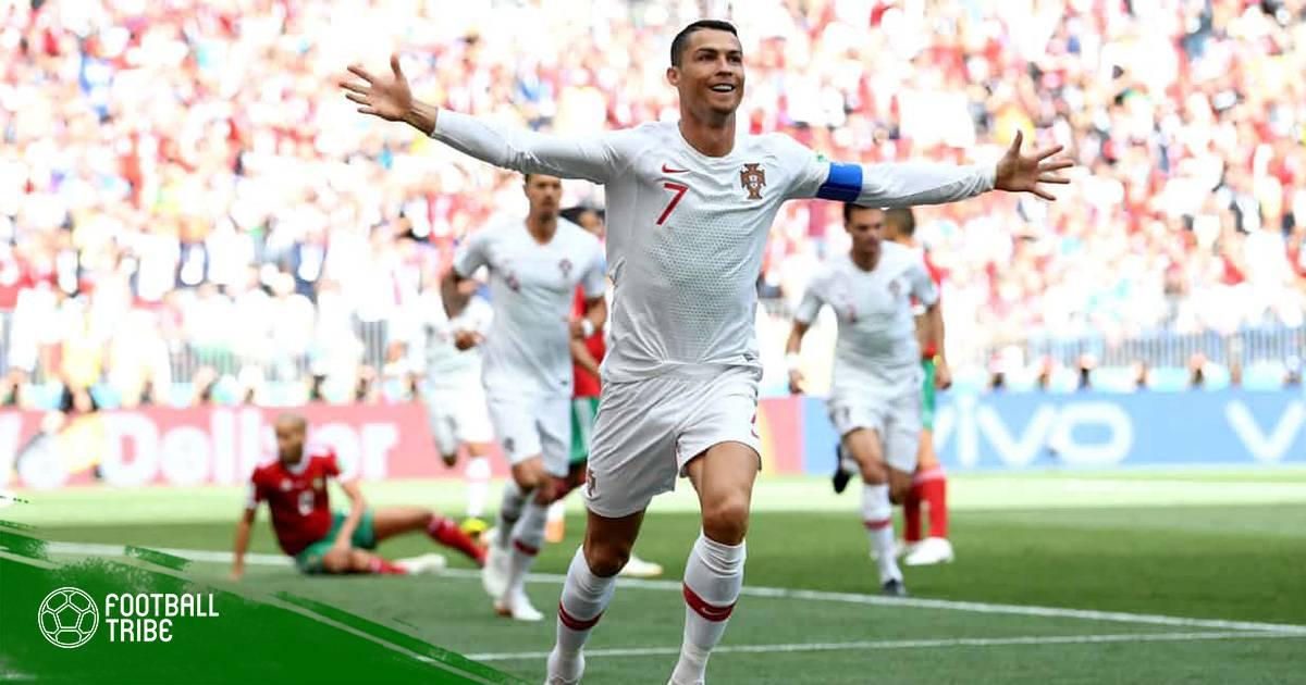 """Cristiano Ronaldo – Kỷ lục gia """"không tuổi"""" của World Cup"""