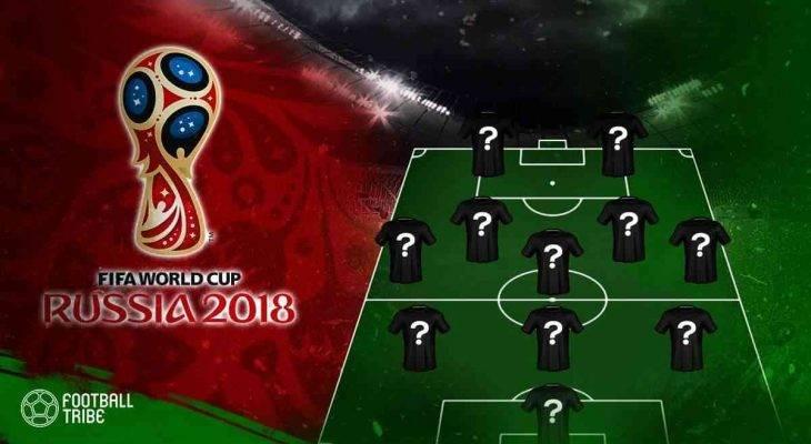 Đội hình tối ưu của 32 đội bóng tại World Cup 2018