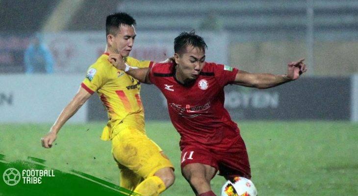 Vòng 15 V.League | Nam Định ngược dòng ấn tượng ngay tại Thống Nhất
