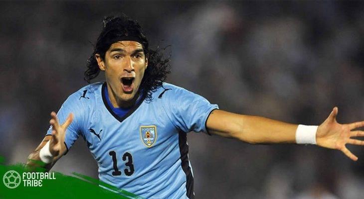 """Tiền đạo Uruguay tự phá kỉ lục """"nhảy việc"""""""
