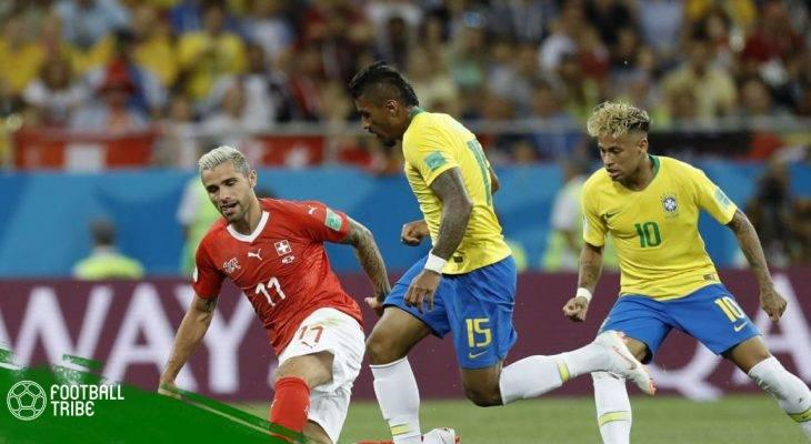 Những điểm nhấn sau cuộc chạm trán giữa Brazil và Thụy Sĩ