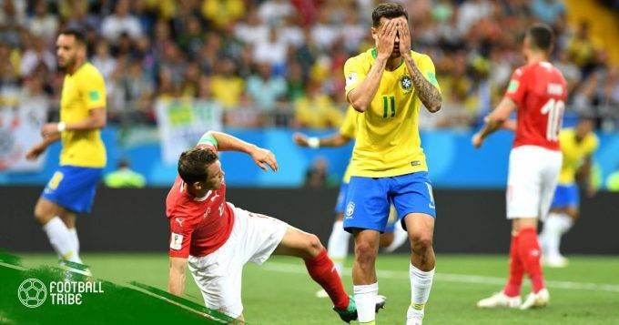 Brazil 1-1 Thụy Sĩ: Cái giá của sự cầu toàn