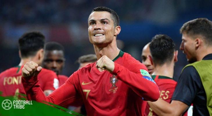 Điểm nhấn trận Bồ Đào Nha 3-3 Tây Ban Nha: Ngả mũ trước Ronaldo!