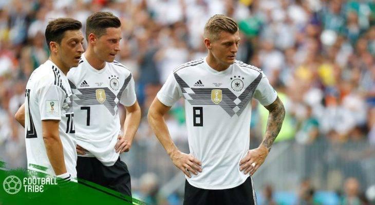 Bảng F | Đức 0-1 Mexico: Địa chấn Luzhniki!
