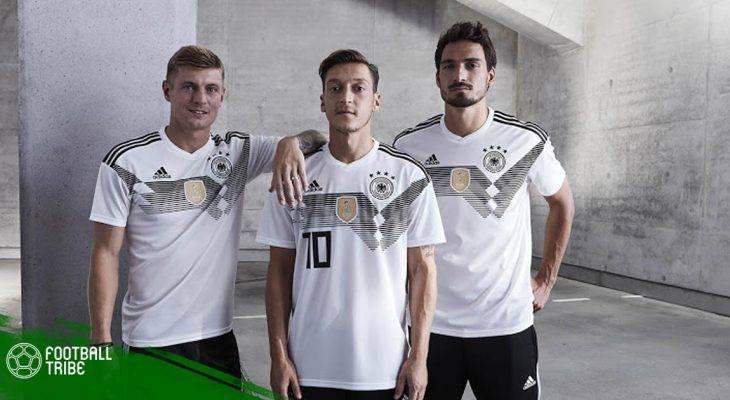 Những bộ áo đấu đẹp nhất tại World Cup 2018