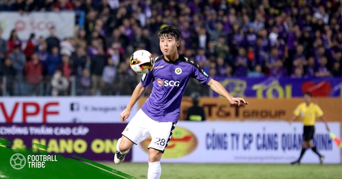 Duy Mạnh nhập viện gấp sau trận đấu với Quảng Nam