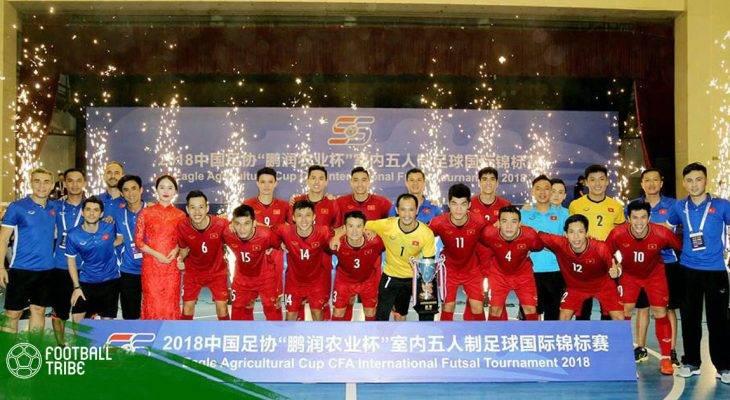 VOV tiếp tục đồng hành với futsal Việt Nam