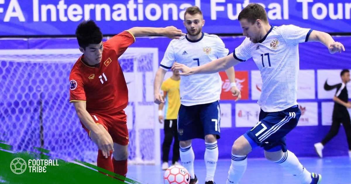 ĐT Futsal Việt Nam cùng bảng Thái Lan tại Giải vô địch Futsal Đông Nam Á 2019