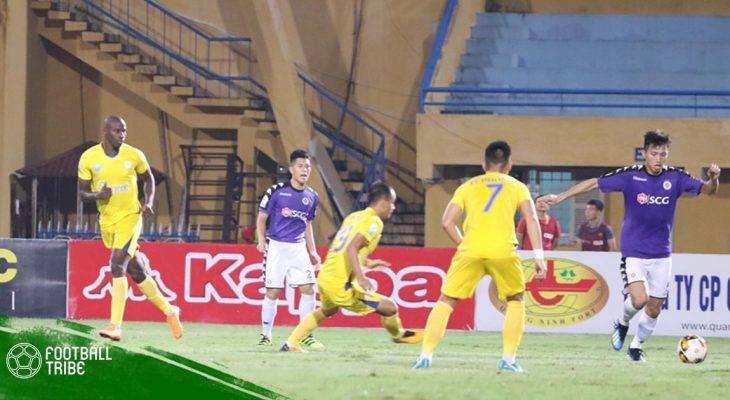 Điểm nhấn vòng 11 V.League: Hà Nội FC vô địch lượt đi