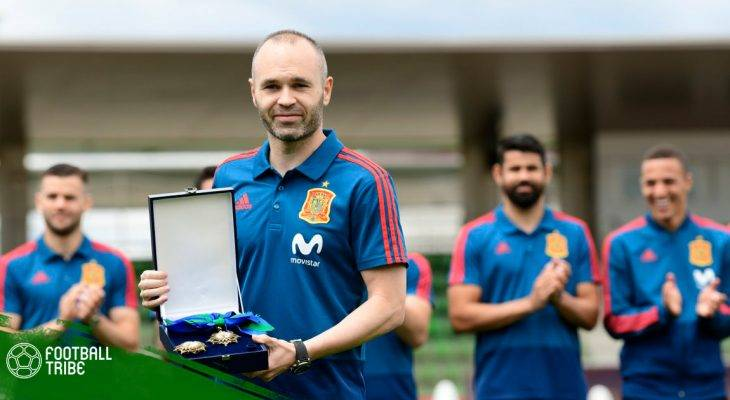 Bản tin chiều 6/6: Iniesta nhận huân chương từ Thủ tướng Tây Ban Nha