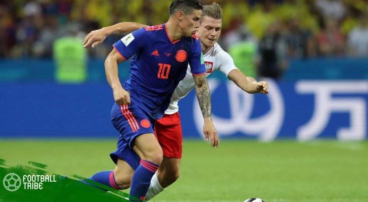 """Điểm nhấn Ba Lan 0-3 Colombia: Chia tay """"Đại bàng trắng"""""""