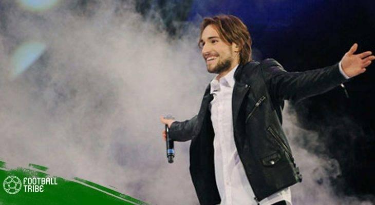 Những ngôi sao bén duyên với âm nhạc trong làng bóng đá thế giới