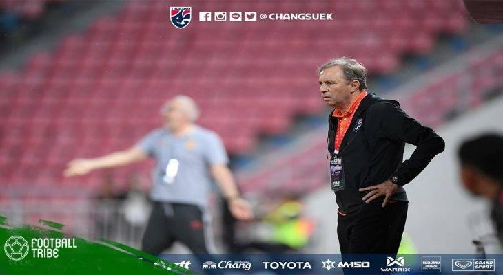 HLV Thái Lan bị sa thải ngay sau trận ra quân Asian Cup