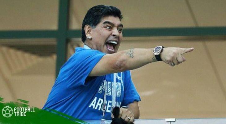 Maradona muốn làm… HLV miễn phí cho Argentina