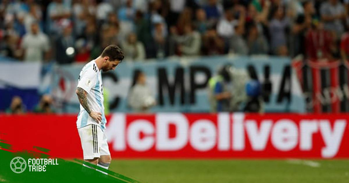 Điểm nhấn Croatia 3-0 Argentina: Messi trước nguy cơ về nước