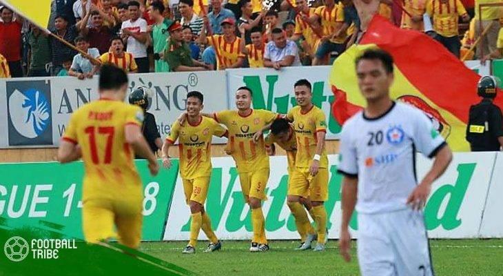 """Vòng 16 V-League I """"Hàng thải"""" Đà Nẵng giúp Nam Định tiếp đà thăng hoa"""