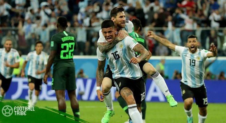 Dư âm Argentina 2-1 Nigeria: Thần tài Marcos Rojo