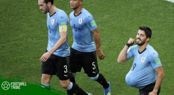 Tiền đạo Luis Suarez đón niềm vui nhân đôi