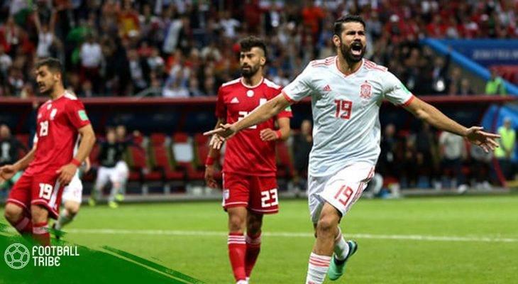 Điểm nhấn Tây Ban Nha 1-0 Iran: Người hùng Costa