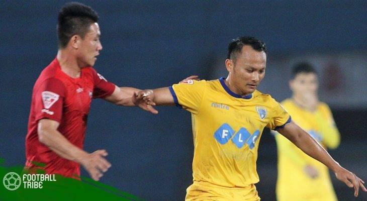 Vòng 12 V.League 2018: Thanh Hóa tiếp tục gây thất vọng