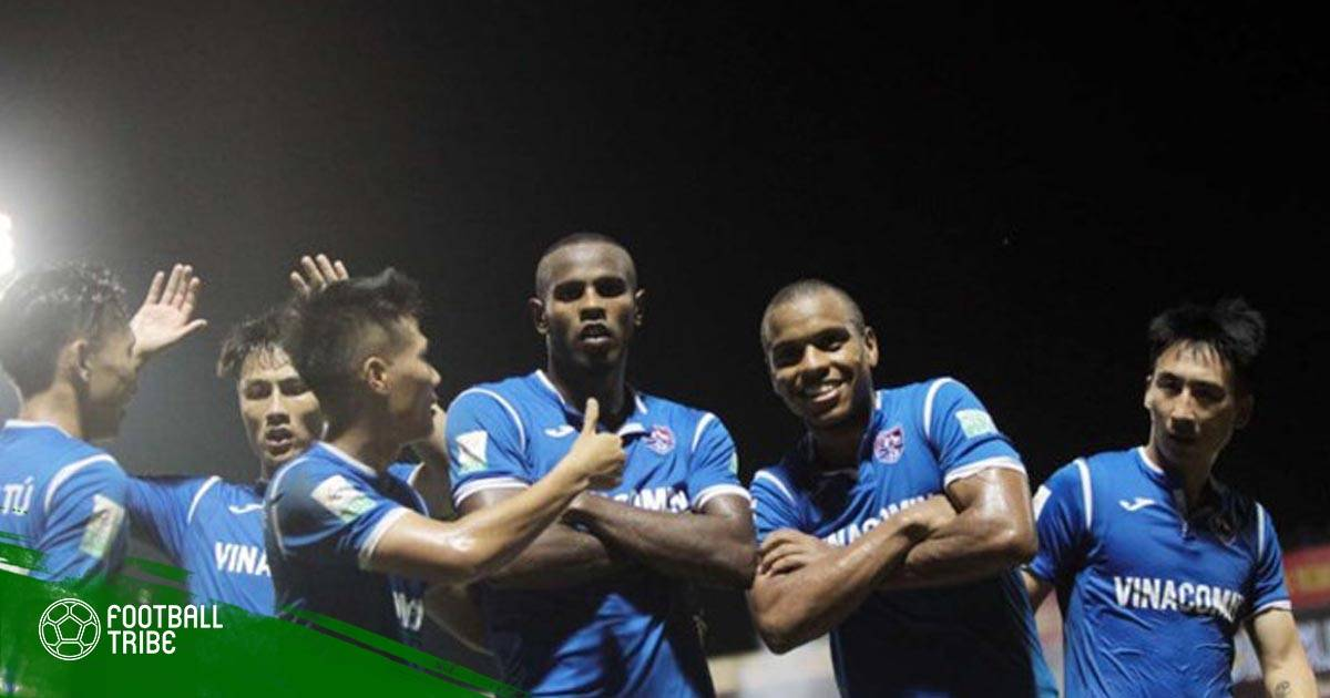 Vòng 12 V.League 2018: Eydison nhấn chìm HAGL tại Cẩm Phả