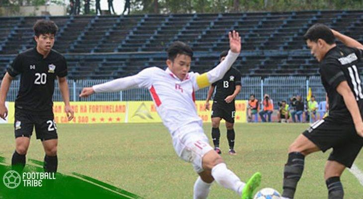 Phung phí cơ hội, U19 Việt Nam để U19 Thái Lan cầm hòa