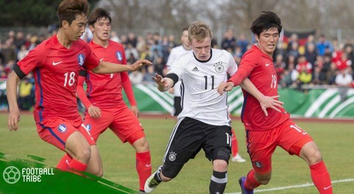 U19 Hàn Quốc thi đấu thất vọng tại Toulon Cup
