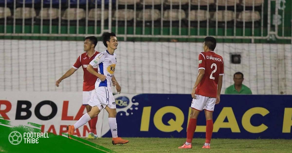 """Điểm nhấn trận đấu HAGL 4-0 Than Quảng Ninh: Văn Toàn """"rực sáng"""""""