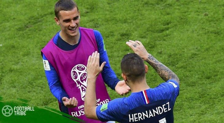 """Atletico Madrid """"trói chân"""" bộ ba người Pháp"""