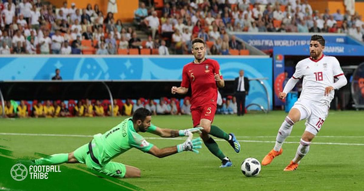 Điểm nhấn Iran 1-1 Bồ Đào Nha: Ronaldo trượt pen, Bồ Đào Nha vẫn đi tiếp