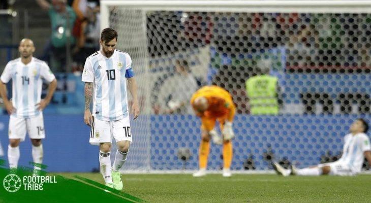 """""""Bão"""" chưa tan sau thất bại của đội tuyển Argentina"""