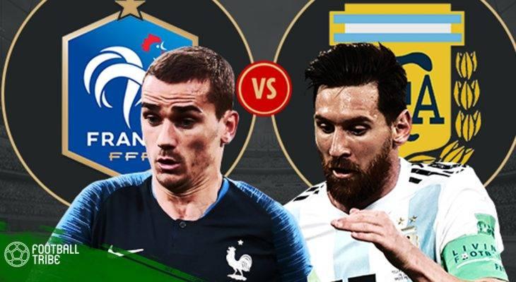 Cuộc thư hùng Argentina – Pháp qua những con số thú vị