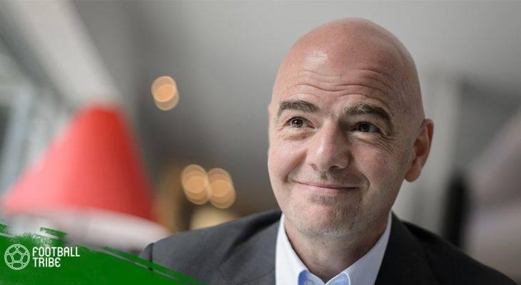 Chủ tịch Infantino: Trọng tài sẽ mạnh tay với nạn phân biệt chủng tộc