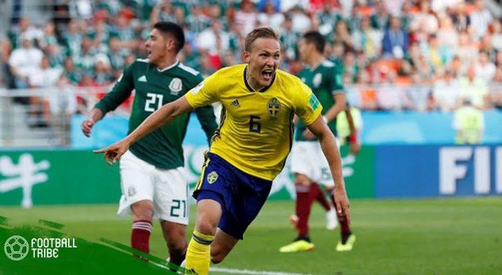 """Điểm nhấn Mexico 0-3 Thụy Điển: Người Mễ """"thầm"""" cảm ơn người Hàn"""
