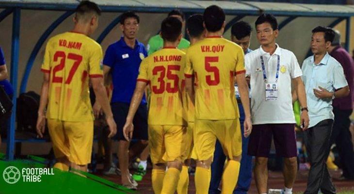 Vòng 14 V.League 2018 | Nam Định đánh rơi chiến thắng trên sân nhà
