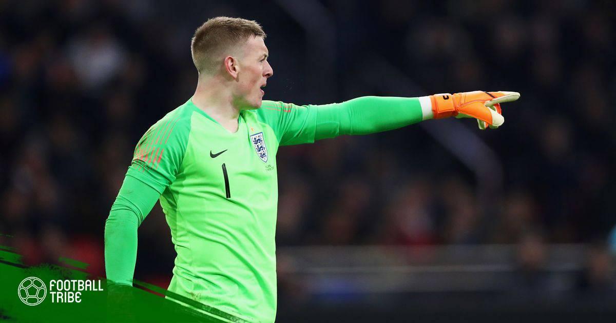 """Jordan Pickford, """"bùa hộ mệnh"""" mới của đội tuyển Anh"""