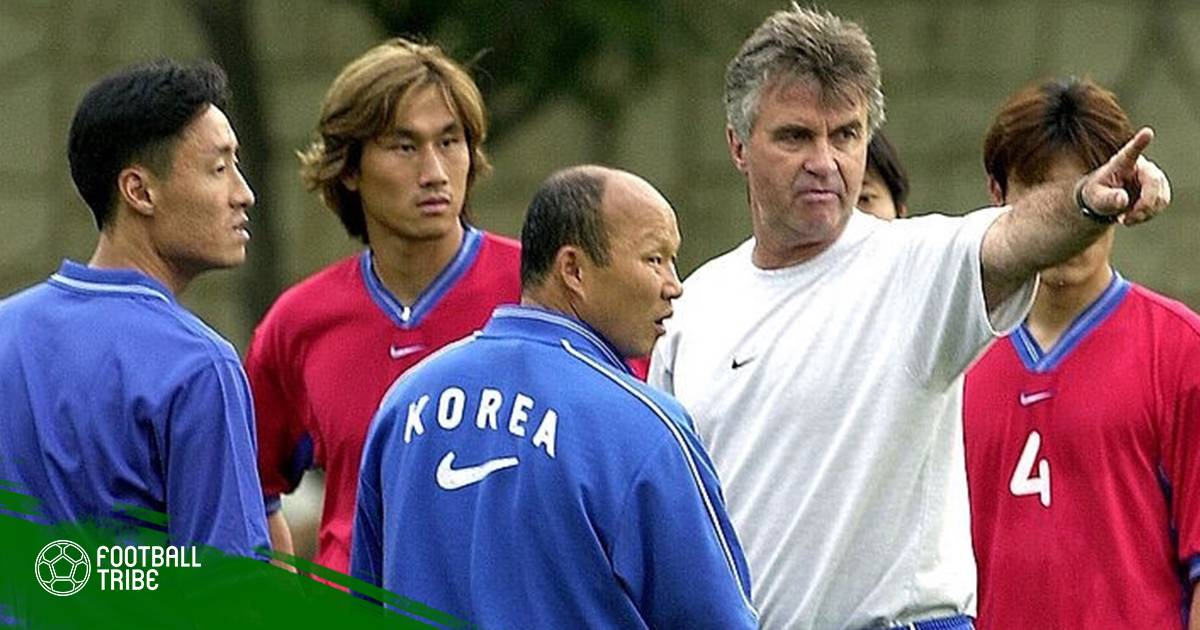 HLV Park Hang-seo đổi kế hoạch để gặp lại ông Guus Hiddink