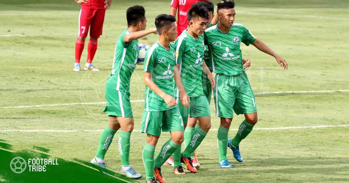 Phù Đổng & An Giang giành quyền lên chơi hạng Nhất 2019