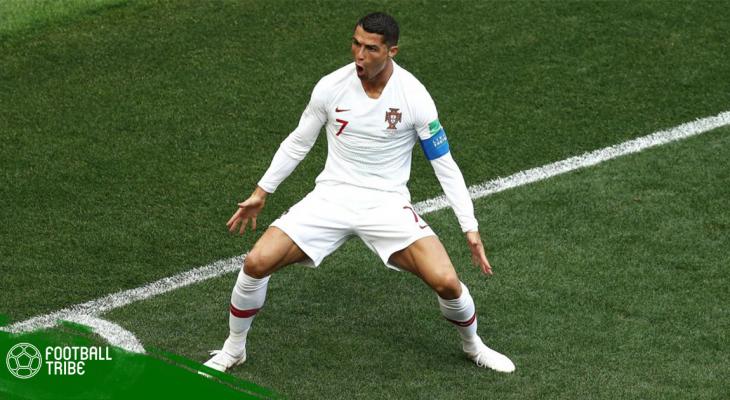 Ghi bàn vào lưới Morocco, Ronaldo trở thành chân sút số một châu Âu