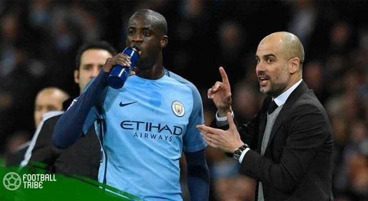 Yaya Toure tố Pep Guardiola xử tệ với cầu thủ da màu
