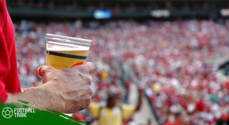 UEFA dỡ lệnh cấm bia trên khán đài các cúp Châu Âu
