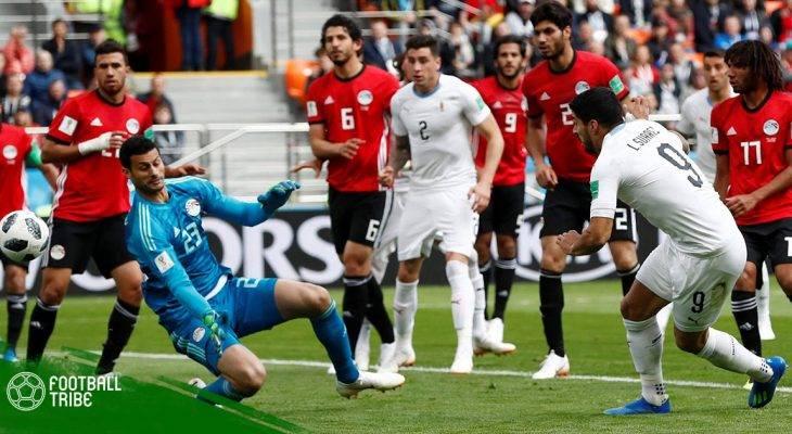 Điểm nhấn Uruguay 1-0 Ai Cập: Nỗi nhớ Salah