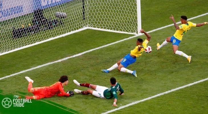 Điểm nhấn Brazil 2-0 Mexico: Một mình Ochoa không thể loại Selecao