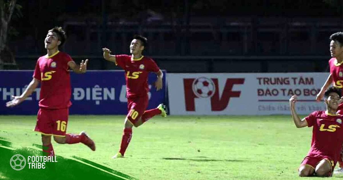 Hạ PVF, Viettel vào chung kết giải U17 QG