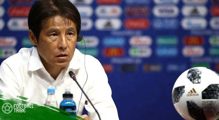 Nhật Bản thay tướng sau World Cup