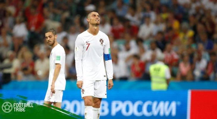 Điểm nhấn Urguay 2-1 Bồ Đào Nha: Chia tay CR7