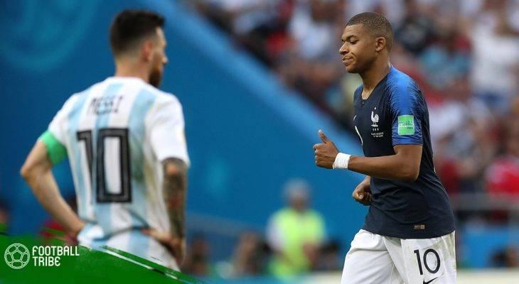 Điểm nhấn Pháp 4-3 Argentina: M10!