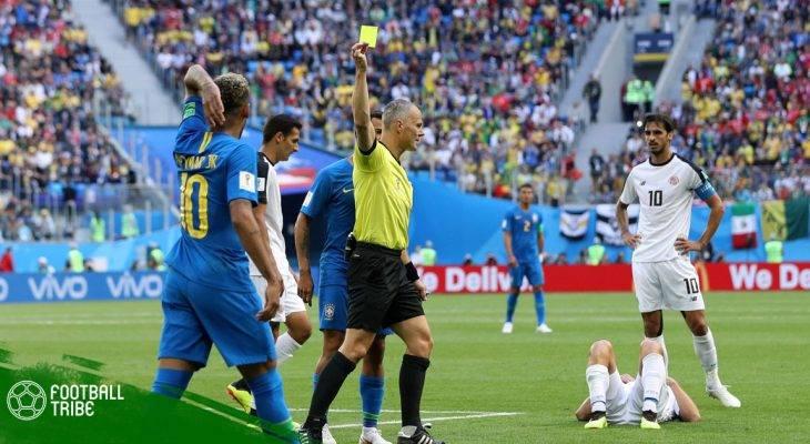 """Thẻ vàng – """"Mối hiểm họa"""" trước thềm tứ kết World Cup"""