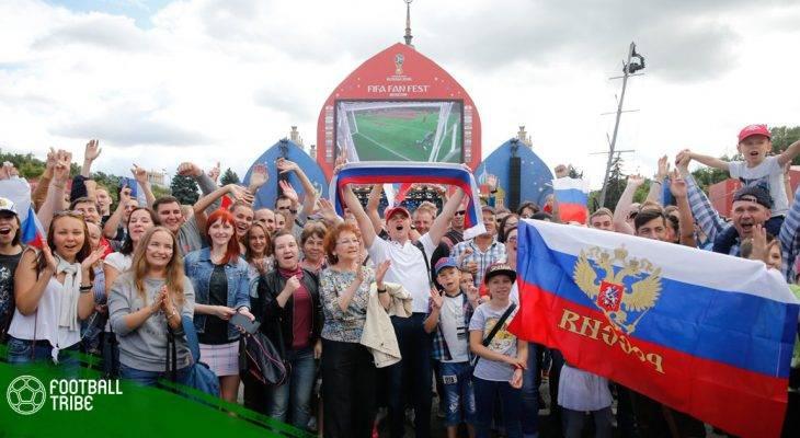 Đội tuyển Nga tri ân cổ động viên sau hành trình World Cup 2018